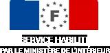 logo habilitation ministère de l'interieur | Déemarches ANTS